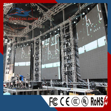 P6 SMD outdoor full color stage background led video wall display
