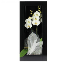 3D Aritificial Plant Wall Framed Floral Art Artificial Wall Hanging Flower