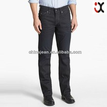 2015 european jeans brands stylish designer black jeans for men JXL21612