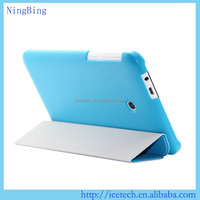 8 inch tablet pu leather flip cover for Dell Venue 8 Pro