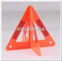 Warning triangle-Inserted design