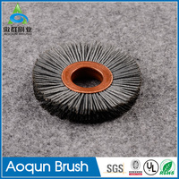 Factory outlets PCB polishing brush with higher nylon bristles