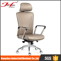 Luxury H202D11 mesh fabric seating leather lift office chair