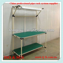 Production line table by lean pipe