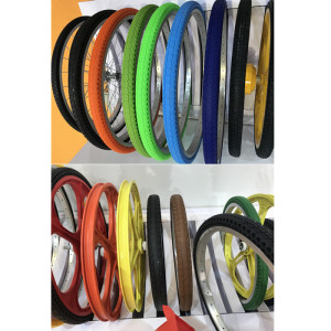 Solid rubber bike tires 20 24 26 inch bicycle tyre