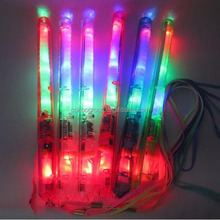 New foam Light up Stick Multi Color Flashing Blinking Glow Rock LED