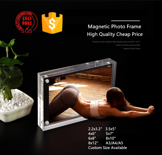 Free Standing Magnetic Sex Photo Frame Sexy Girls Funia Frame Photo