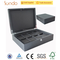 cabinets good quality custom logo wooden storage watch box