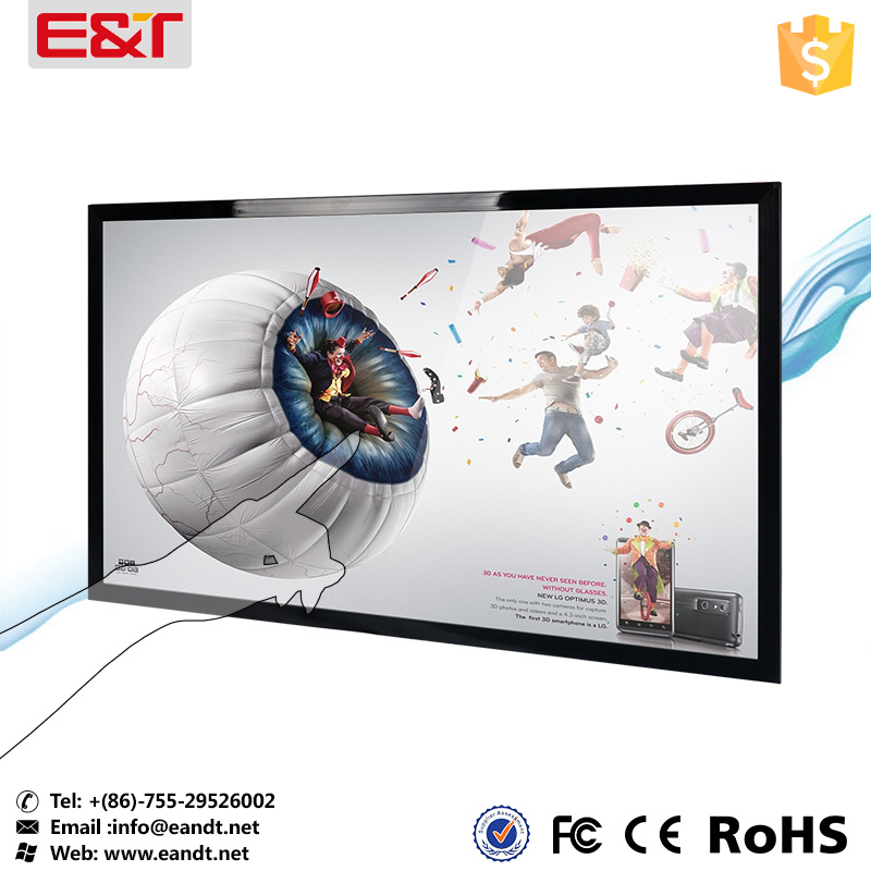"32"" touch screen panel kits usb powered touch screen monitor touch screen restaurant menu"