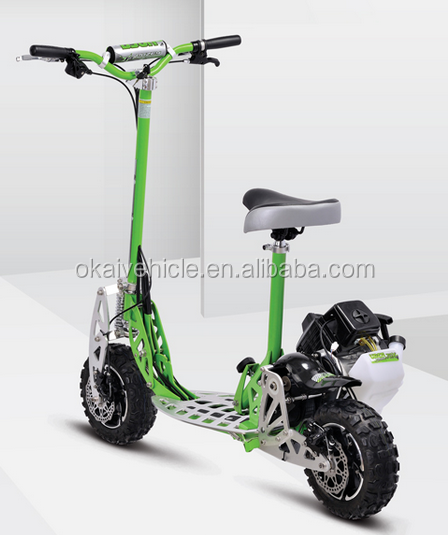 Uberscoot/EVO 2 speed folding gas scooter 33cc for adult