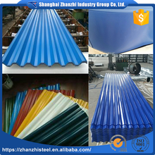 Factory Wholesale Price Prepainted Galvalume Metal Roofing Colors