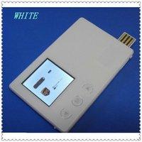 1.5'' black/white credit card mini digital photo frame
