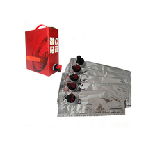 Custom aseptic bib empty bag in box for wine