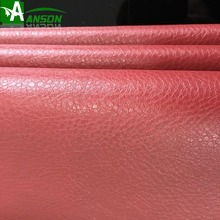PU flocking leather for upholstery, sofa