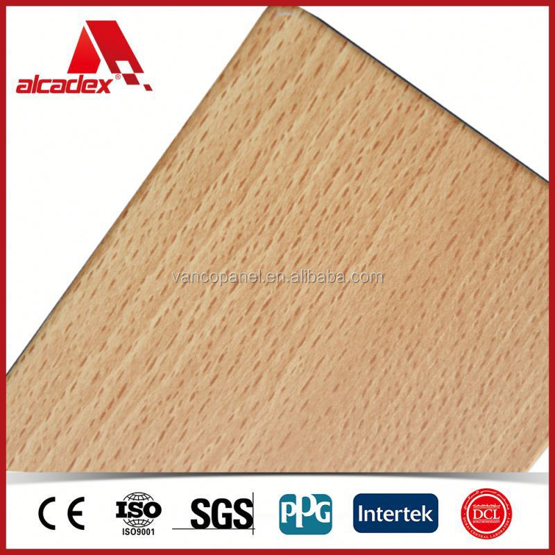 Wood grain acp aluminum metal siding buy aluminum metal for Wood grain siding panels