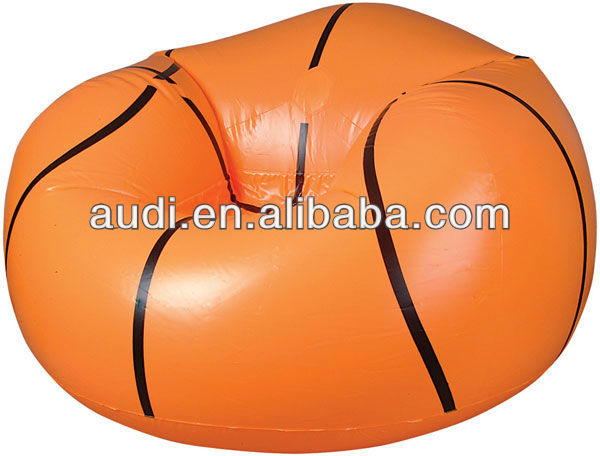 Inflatable Basketball Chair,blow up Basketball Air Sofa,inflatable bean bag