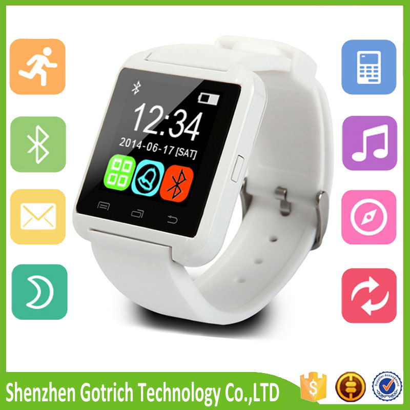 High quality Wireless Talking Watch Smart Phone U8 Smartwatch