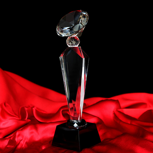 Kinsam Crystal Wholesale Crystal Glass Awards &Trophy Art Craft Most Popular