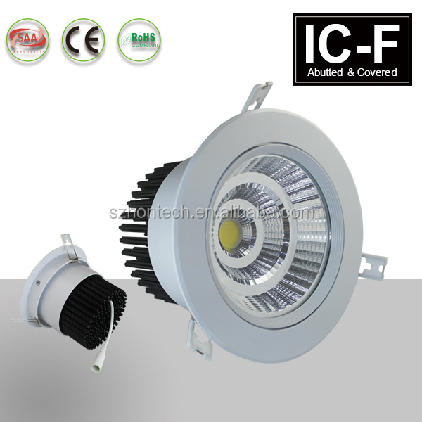 COB led downlight 12W 15W led downlight adjustable led downlight with CE ROHS approved 3 years warranty