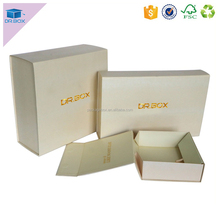 Bangladeshi garment box clothing packaging larger box for men with clothing packaging bag