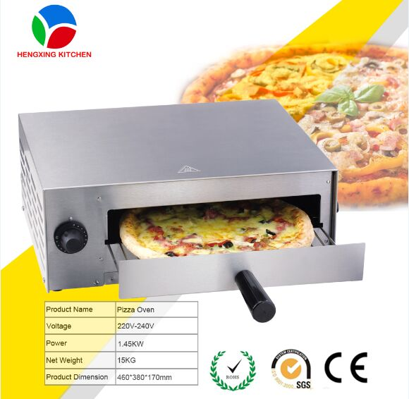 Hot Sellling Single Deck Electric Brick Oven Pizza Ovens Sale