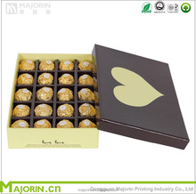 Chocolate box for chocolate packaging