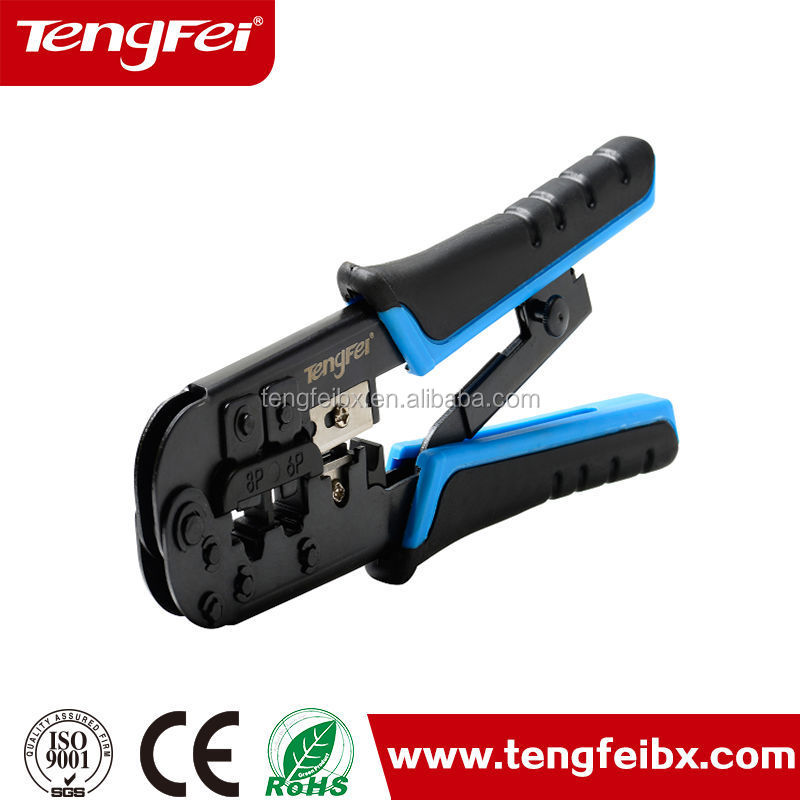 crimping stripping tool /wire stripper / fiber cutter/rj45 / coaxial cable crimper