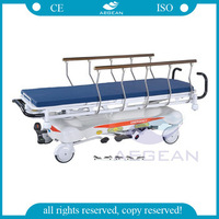 AG-HS001 CE ISO patient transport hydraulic emergency ambulance stretchers