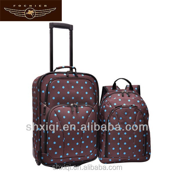 cheap kids polyester luggage