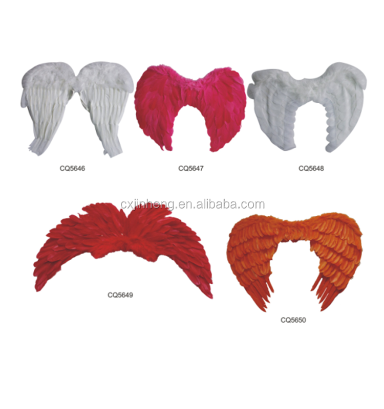 Dyed carnival indian Showgirl Angel Wings Various Colors