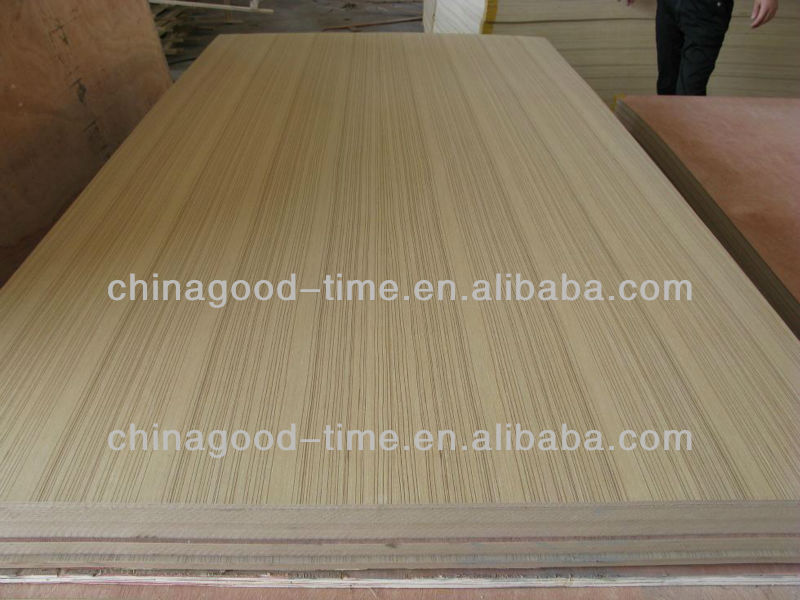 high quality natural teak teak faced plywood/fancy plywood in lower price
