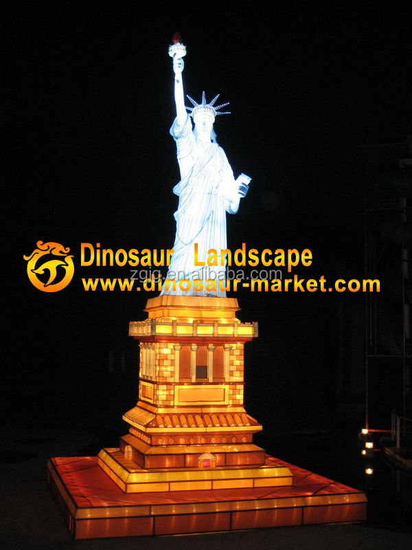 hot craft show items lantern show of Statue of Liberty souvenirs