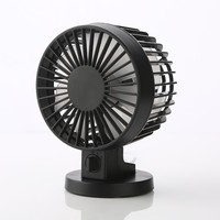 Double Motor Two Leaf Ultra Silence USB Table Portable Mini Blower Fan