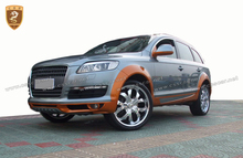 Hot sale body kit for audi Q7 2008 converted to ABT body kit in pu