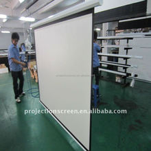 120inch Electric Projection Screen - White Case with RF Remote