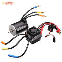 Racerstar 3650 Sensorless Brushless Waterproof Motor 60A ESC Combo For 1/10 Monster Truck Truggy Cars