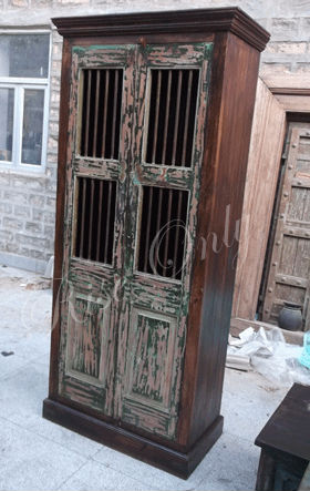 Rise Only reproduction antique colourful wooden wardrobes armoire designs of room almirahs