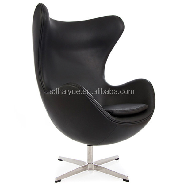 Replica swivel egg shaped chair modern design 2016, Classical style replica leisure furniture Arne jacobsen egg