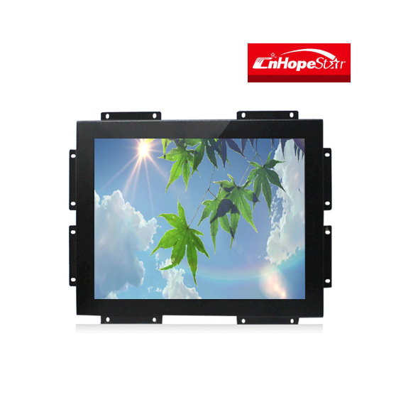 Customized 15 17 19 20 22 24 inch open frame IR Infrared touch screen lcd monitor for computer with DVI VGA HDMI input