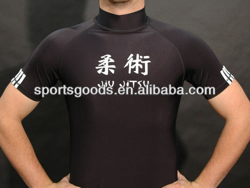 New arrival: Printed Lycra short sleeve rash guard