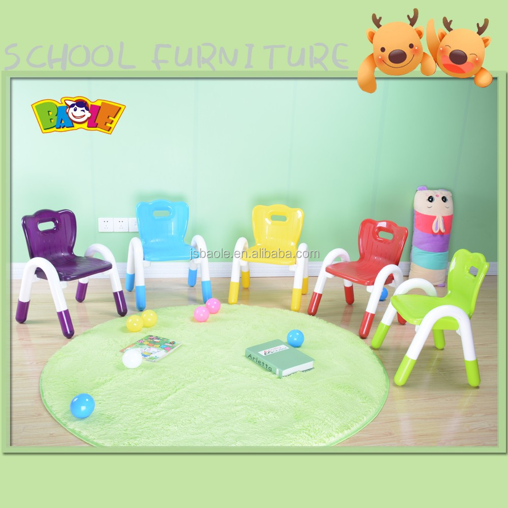 Factory Price Folding Nursery School Desk And Chair