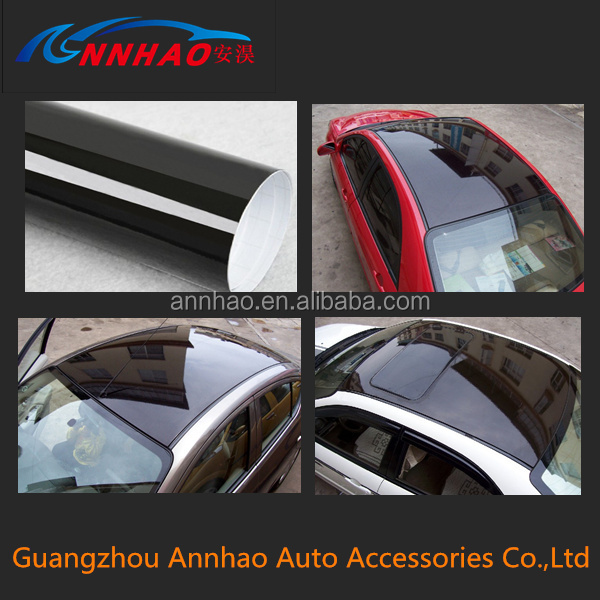 1.35*14m PVC Material Self Adhesive Vinyl Sticker Roll Car Roof Film