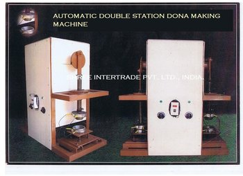 Automatic Paper Dona Making Machine - Double Station