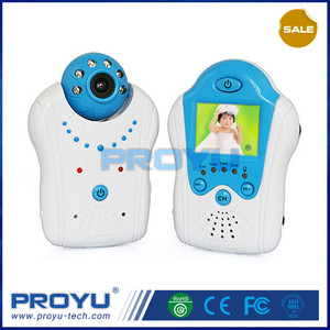 2.4g wireless digital lcd baby monitor with remote viewing PY-B8001L