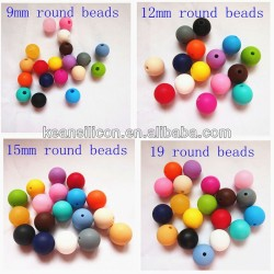 baby silicone teething Beads Used for Jewelry Making And DIY Kits