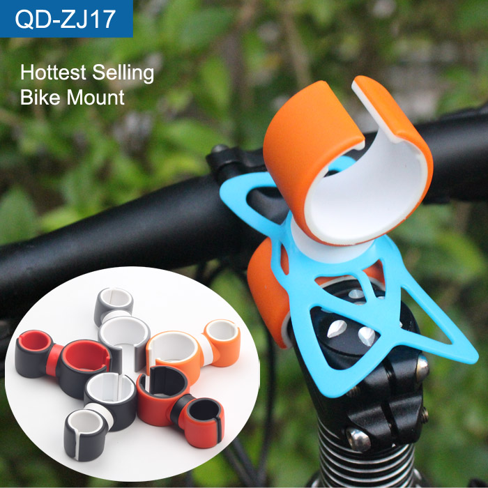 Wholesale Unique Bicycle Bracket Bike Phone Mount Holder For LED Flashing Torch