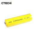 Chinese manufacture supply rechargeable nicd AA 14505 1000mAh