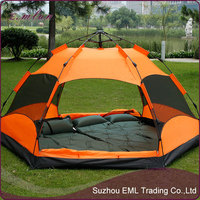 Wholesale fashion permanent tent 6 persons in the tent make friends cooler suitable for outdoor travel