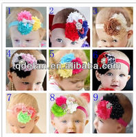 wholesale beautiful flower hair accessories for baby girls