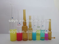 pharmaceutical low borosilicate glass ampoule s/made in china/factory with ISO